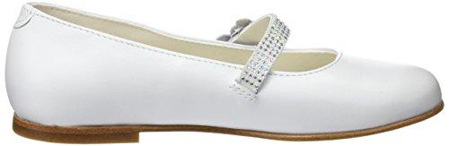 Pablosky Mädchen 823403 Mary Jane Flats Weiß