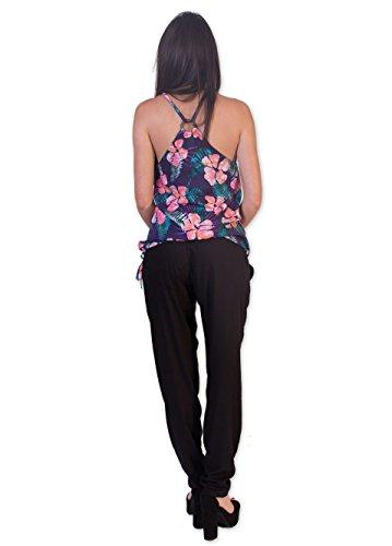 Coton Du Monde - Camiseta de manga larga - para mujer Multicolor