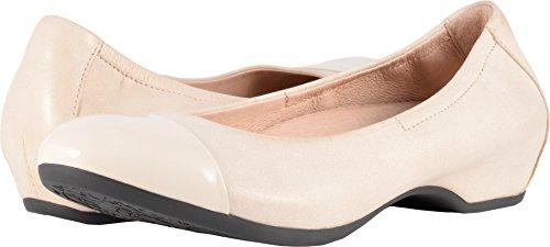 Dansko Women's Lisanne Flat Ivory Nappa Size 38 EU (7.5-8 M US Women)