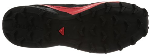 amp; L39122100 Racing Black Red Schwarz Schwarz 6 Unisex Red Erwachsene Black Trekking Wanderhalbschuhe 5 Racing UK Salomon AIgH4FwqW