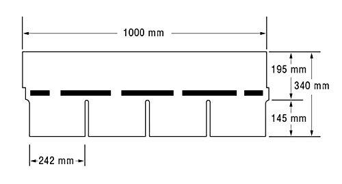 Bitumenschindeln Dachschindeln Rechteck Schindel Dachpappe Bitumen rot 2,32 m/²