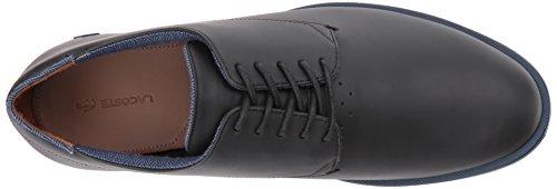 Lacoste Men's Laccord 417 1 Oxford, Black/Black, 10 M US