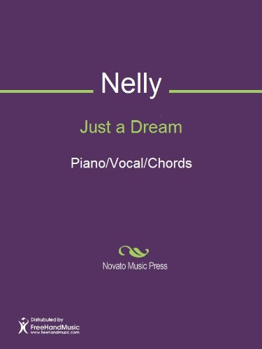 Just A Dream Sheet Music Pianovocalchords Kindle Edition By