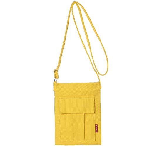 AOCINA Small Crossbody Purse Bags Canvas Mini Shoulder Handbag For ()