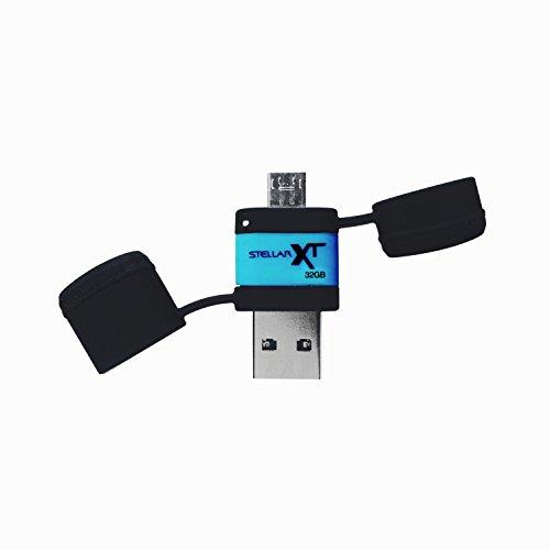 Stellar Boost XT Ruggedized 32GB USB 3.0/USB OTG Storage for