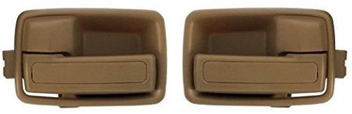 Isuzu Trooper Interior - DELPA CL4941 > 84-91 INSIDE Interior Inner LEFT & RIGHT Door Handle Beige Fits: Isuzu TROOPER