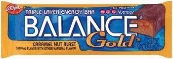 Balance Bar Gold Caramel Nut Blast Gold Bar, 1.76 Ounce -- 6 per case. by BALANCE ()