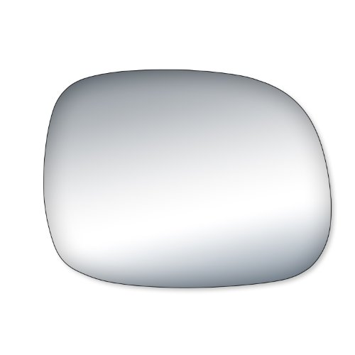 Fit System 99187 Toyota Tundra Driver/Passenger Side Replacement Mirror Glass (Tundra Mirror 05)