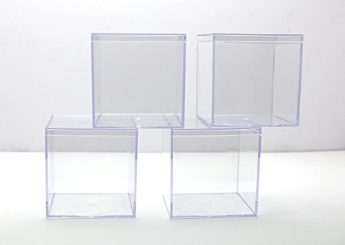 Clear Plastic Box - 4
