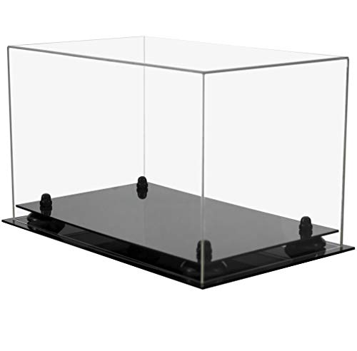 Vintage Sports Premium Acrylic Display Case for Shoes, Cleats, or Boots