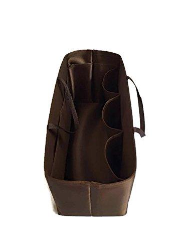 Black LV Totally GM LV Speedy 35 Smart Bag Organizer for LV Neverfull size GM