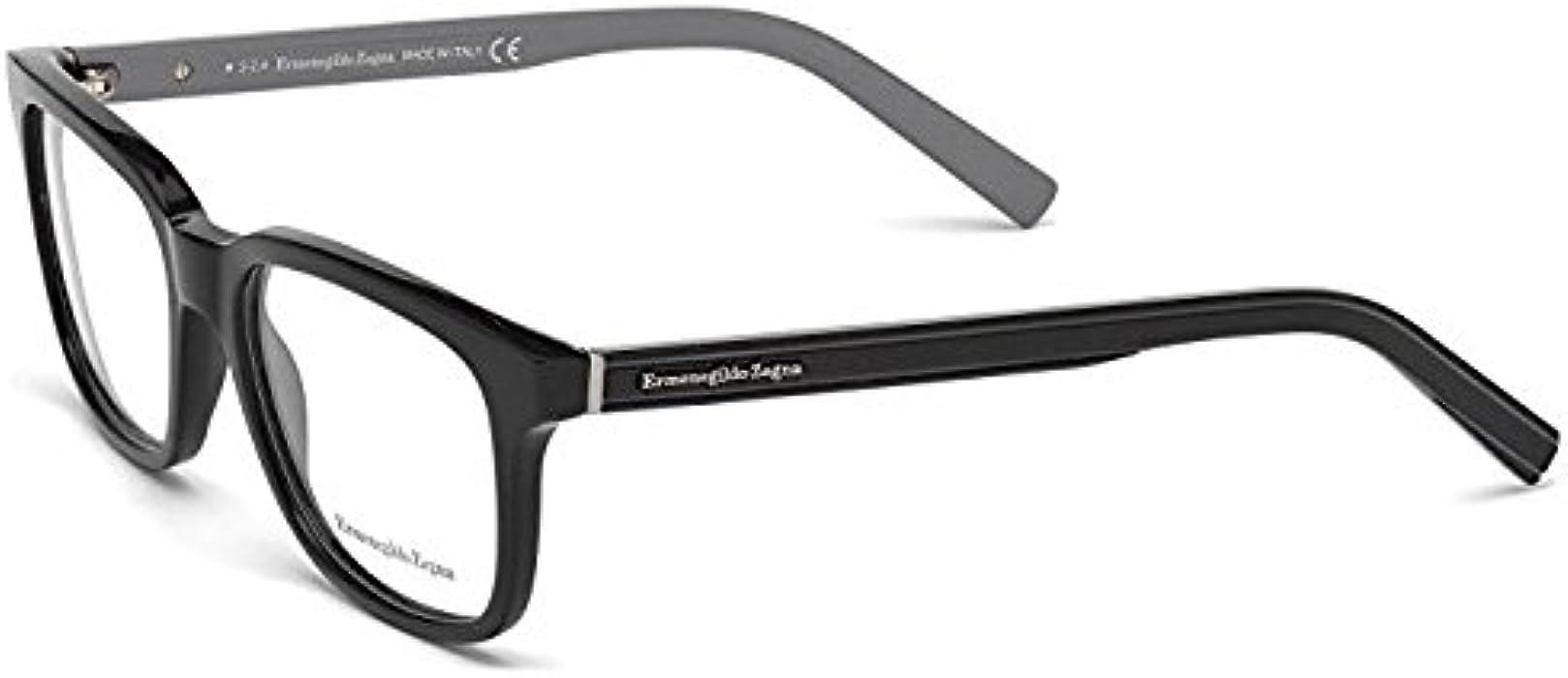 ec8552337a Amazon.com  Eyeglasses Ermenegildo Zegna EZ 5022 EZ5022 005 black other   Clothing