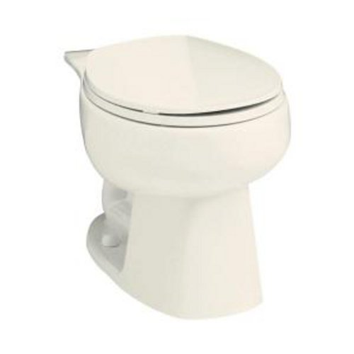 Sterling 403015-96 Windham Round Front Toilet Bowl, Biscuit