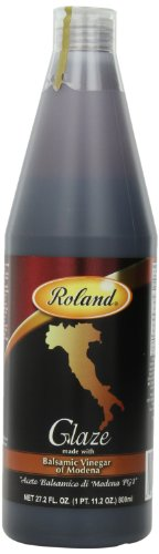 Roland Balsamic Glaze, 27.2-Ounce Bottles (Pack of 2)