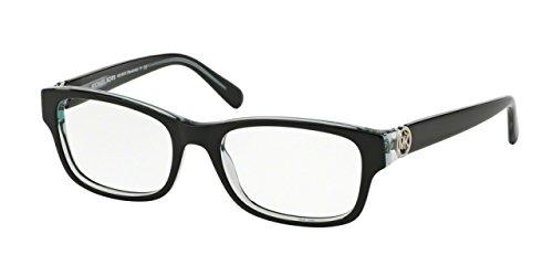 Michael Kors RAVENNA MK8001 Eyeglass Frames 3001-53 - Black/Blue