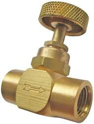 Industrial Grade 5TUL2 Needle Valve, 1/4 In NPT, 600 psi, Brass from Industrial Grade