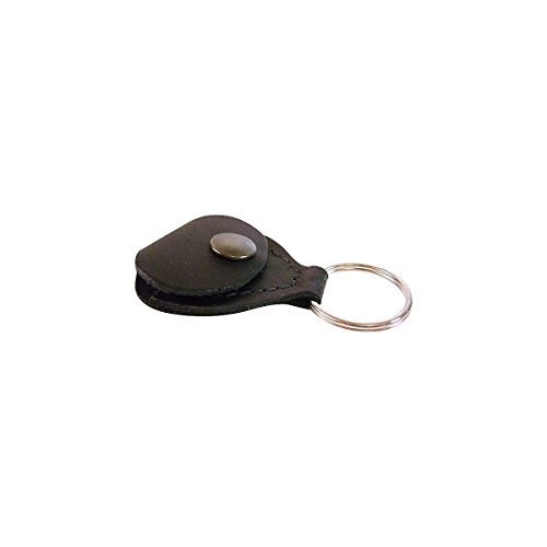 232 Leather - Perris Leather Black Guitar Pick Holder Key Chains (PICKKEY-232)