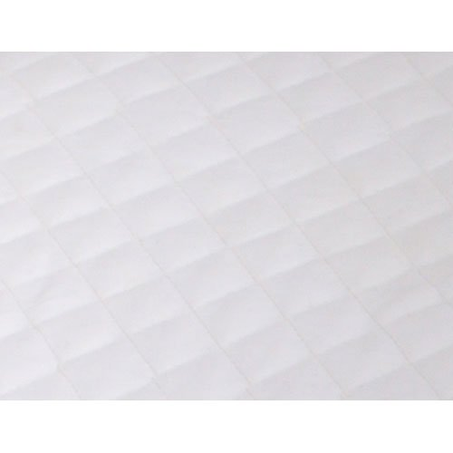 Arm's Reach 1700-OW Versatile Bassinet Quilted Fitted Sheet - Off White