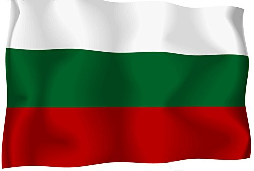 Aimto 3x5 ft Bulgaria Flag - bright colors and anti-fading materials - polyester canvas and brass buttonhole - quality assurance