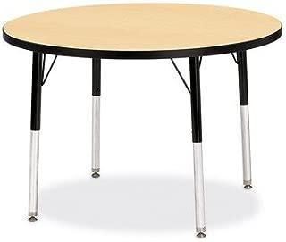 "product image for Jonti-Craft Kydz Activity Table - Round 15"" - 24""/Oak"