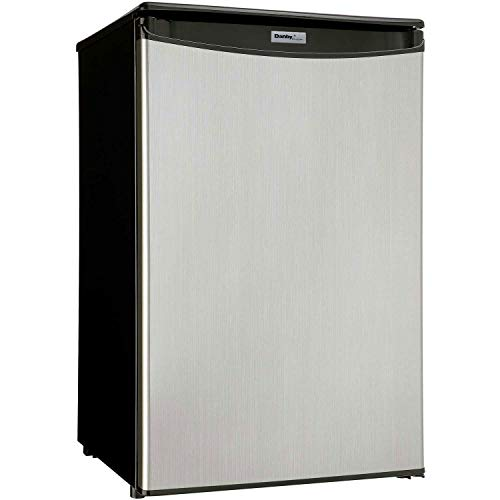 Danby 4.4 Cu. Ft. Compact Refrigerator, Black/Stainless for sale  Delivered anywhere in USA