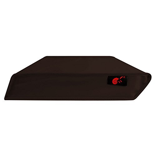 Hermitshell Dust Proof Cover with Soft Velvet Lining Fits Sony Playstation 4 PS4 Game Console Sleeve Color: Coffee Horizontal Style