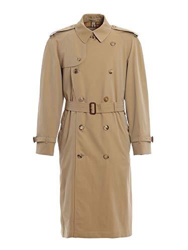 BURBERRY Men's 4073478 Beige Cotton Trench Coat Burberry Trench Coat Men
