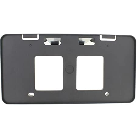 Make Auto Parts Manufacturing - FRONT LICENSE PLATE BRACKET; FOR SE/SE SPORT MODELS; PLASTIC - TO1068128