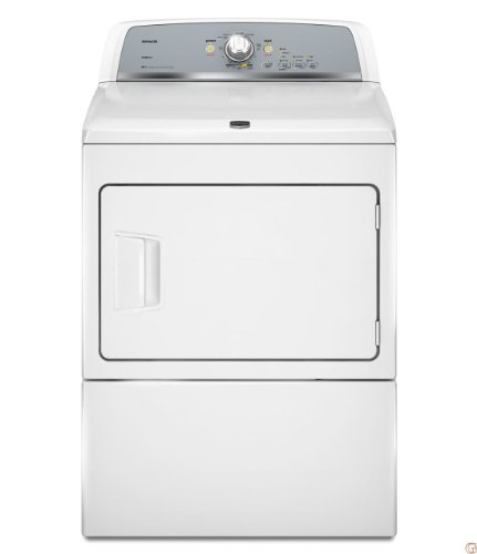 Maytag MEDX550XW: Bravos X Electric Dryer with Ploy Prevent Option