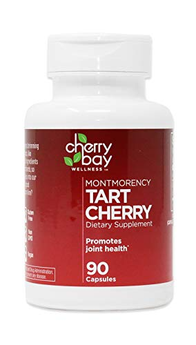 Montmorency Tart Cherry Dietary Supplement - 90 Count Bottle, 2 Pack