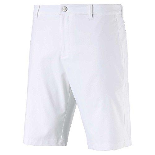 Puma Golf Men's 2019 Jackpot Short, Bright White, 36