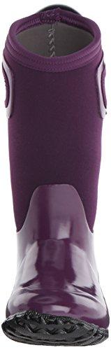 Bogs Girls North Hampton Solid Purple Insulated Kids Warm Wellington Boots 71844-UK 1 (EU 33)