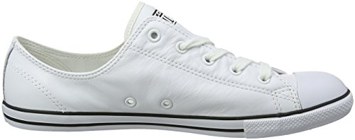 Converse Women's Chuck Taylor All Star Dainty Low-Top Sneakers White K90nSfNGUX