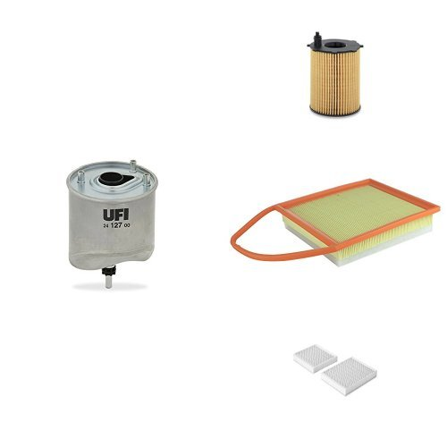 UFI Filters kit de Revision 25.037.00, 24.127.00, 30.645.00, 53.143.00