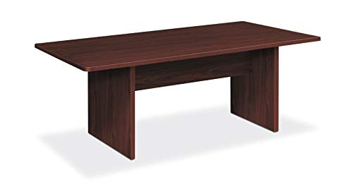 HON Foundation Conference Table - 72'' x 36'', Table Top, Table Base - Material: Thermofused Laminate (TFL) - Finish: Mahogany by HON