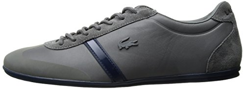 Lacoste Men's Mokara 117 1 Casual Shoe Fashion Sneaker, Dark Grey, 10 M US