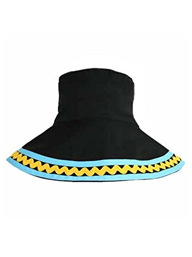 ucket Hat With Blue & Yellow Trim (Multi Plaid Reversible Hat)