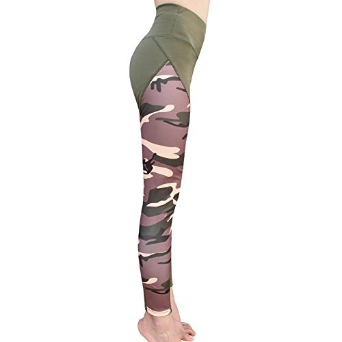 Green4 Femme Pour Yoga Leggings Tendance Sport Élastique De Trendyest Pantalon Camouflage wqOvZSn