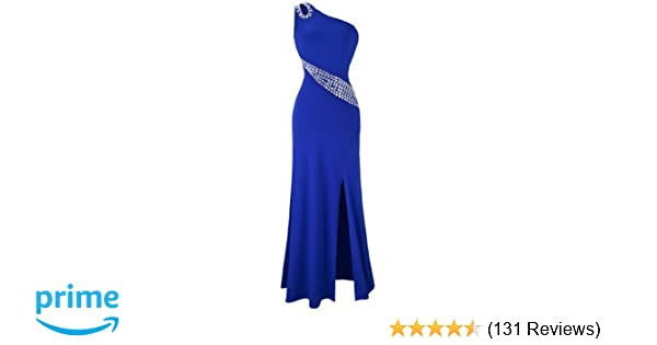 1956d9feed Amazon.com: Angel-fashions Women's Hollow Out Rhinestones One ...