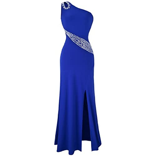One Shoulder Prom Dress: Amazon.com