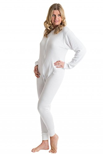 Amazon.com: Octave Womens Thermal Underwear All In One Union Suit ...