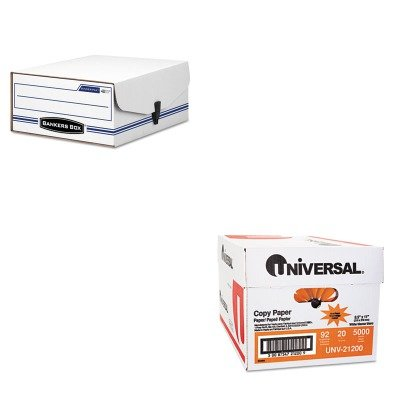 KITFEL48110UNV21200 - Value Kit - Bankers Box Liberty Binder-Pak Storage Box (FEL48110) and Universal Copy Paper (UNV21200) ()