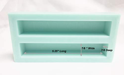 Hobby-CAST 2 Cavity Silicone Mold for Pen Blank Casting