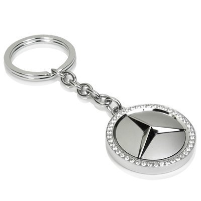 Mercedes benz swarovski key chain official licensed buy for Key for mercedes benz cost
