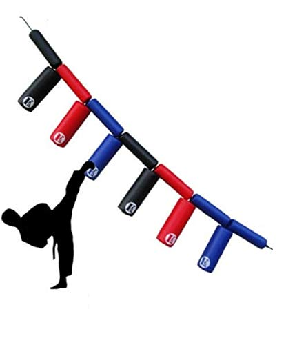 H-TRAINING キックの練習 サンドバッグ 自宅 組立簡単 ストレス解消 キックミット ボクシング 空手 テコンドー 格闘技 エクササイズ ミット打ち 壁掛け TMAX6(海外直送品) B07HQV24T1