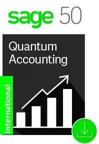Sage 50 Quantum Accounting 10 User Latest Version Basic Business Care INTERNATIONAL ONLY