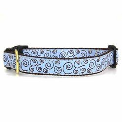 (Curly-Q Dog Collar - Small)