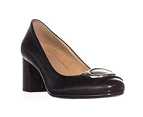 - Naturalizer Women's Wright Dress Pumps, Copper Leather, 8.5 W