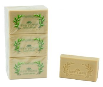 (4 Pack, Pure Traditional Olive Oil Soap - 125 gr bar)
