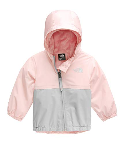 The North Face Kids Unisex Warm Storm Jacket (Infant) Pink Salt 18-24 Months